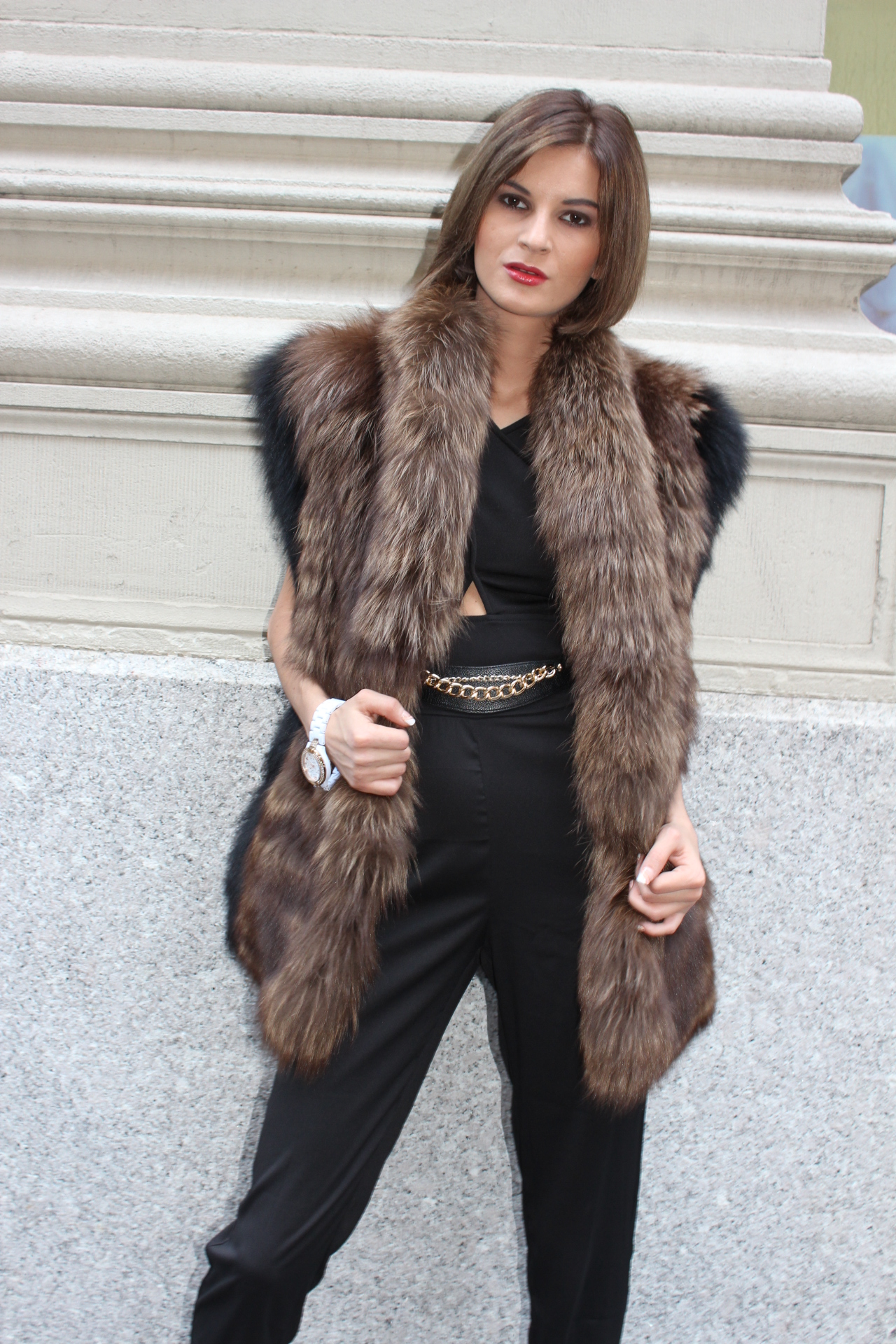 Fox Fur Vest. IMG 4916 Sale! Back to 8e0fe64df111
