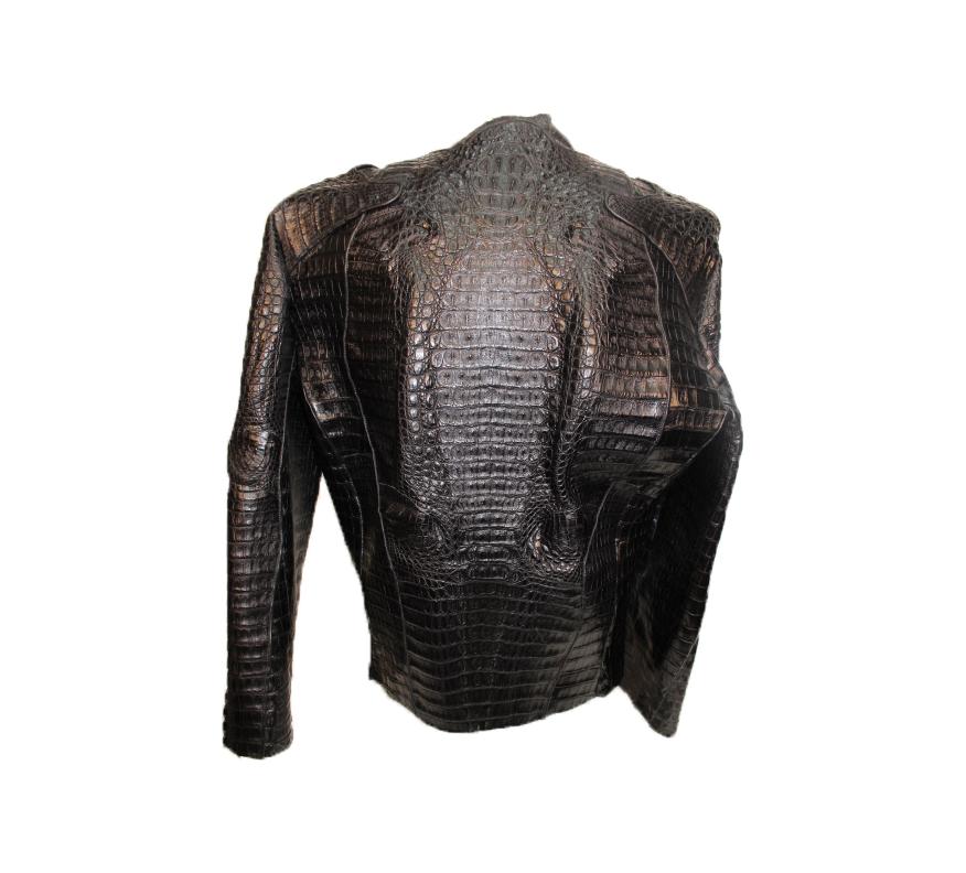 ba576a729 Crocodile Jacket – Rafaello Exotic Skin