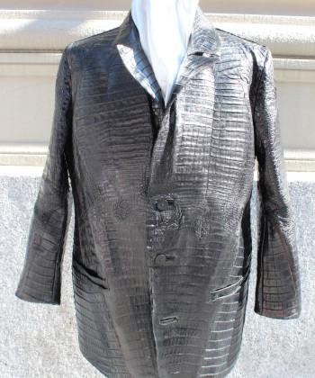 Crocodile skin Jacket