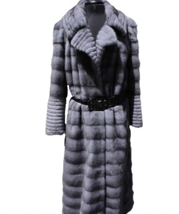 Mink Fur Coat Blue Irish