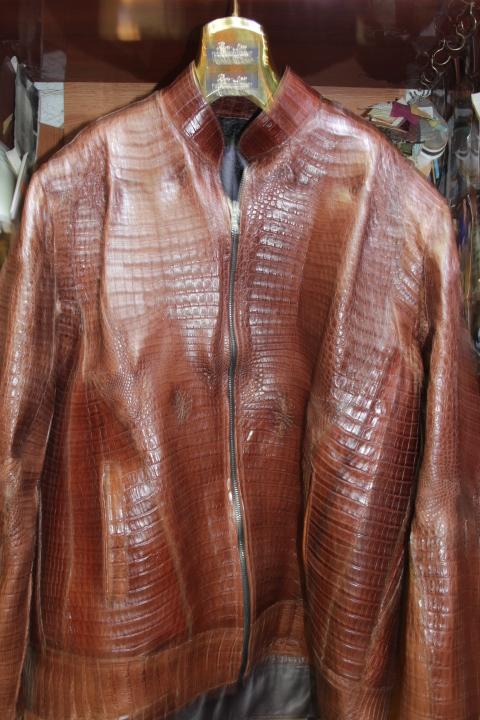 Shearling Bomber Jacket Mens