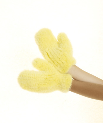 GLOVES mink