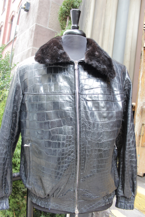 alligator jacket
